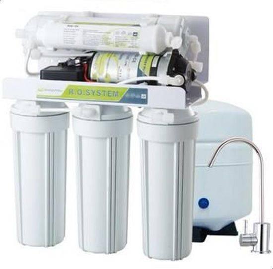 افضل فلتر محطة تحلية مياه منزلية مكون من 5 مراحل