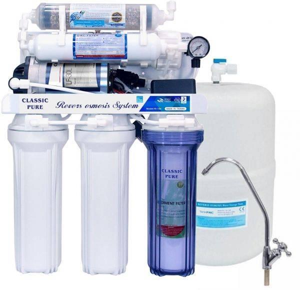 افضل فلتر محطة تحلية مياه منزلية مكون من 6 مراحل