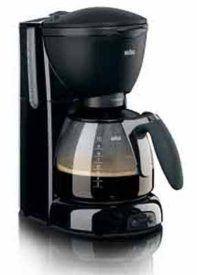 افضل ماكينة تحضير القهوة كافيه هاوس بيور اروما من براون 1100 560 KF وات